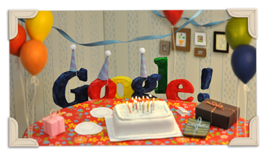 Google's 13th anniversary
