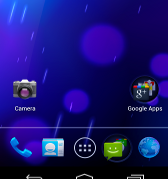 Android 4.0 Screenshot