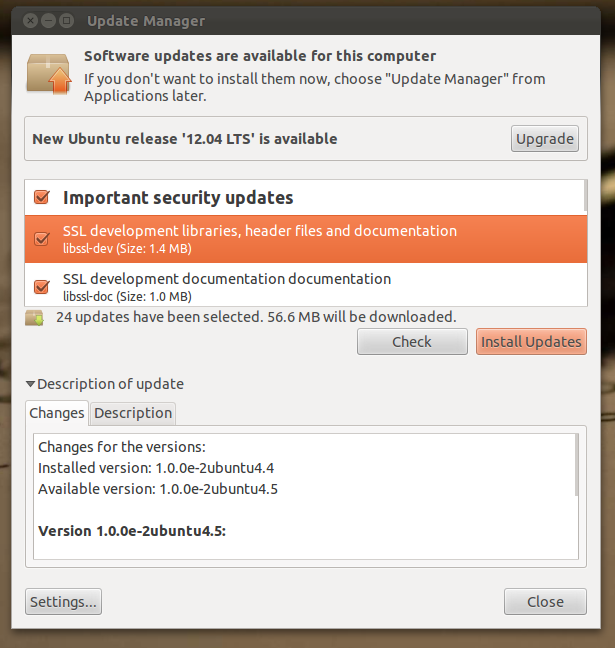 How To Upgrade From Ubuntu 11.10 To Ubuntu 12.04