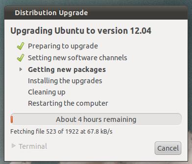 how to upgrade from ubuntu 11 10 to ubuntu 12 04 philip