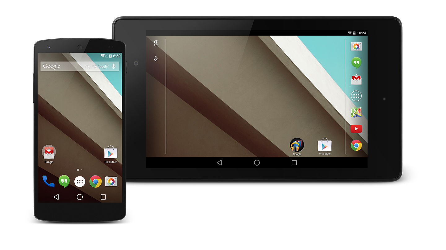 Google announces Android L's developer preview