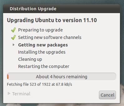 How To Upgrade From Ubuntu 11.04 To Ubuntu 11.10
